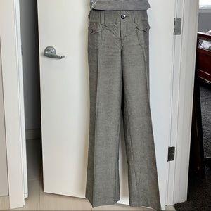 Fully Lined Wide Legged Dress Pants